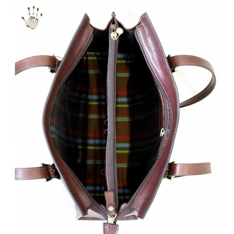 """Leather Lady bag """"Feniglia"""""""