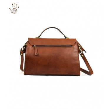 "Leather Lady bag ""Montecristo"""