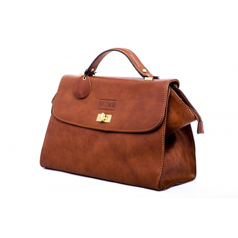 "Leather Lady bag ""Montecristo"""