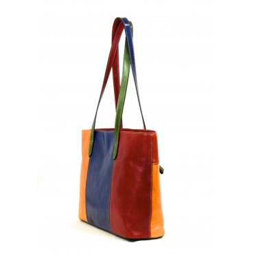 "Leather Lady bag ""Corte dei..."