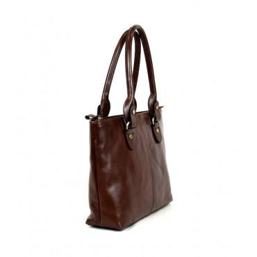 """Leather Lady bag """"Albegna"""" VL"""