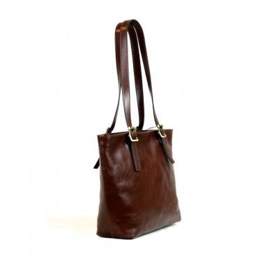 "Leather Lady bag ""Alberese"" VL"
