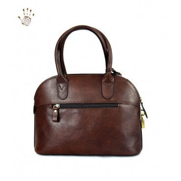 "Leather Lady bag ""Angela"""