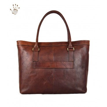 "Leather Lady bag ""Orbetello"""