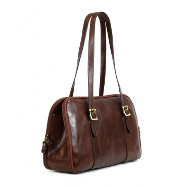 "Leather Lady bag ""Fiora"" VL"