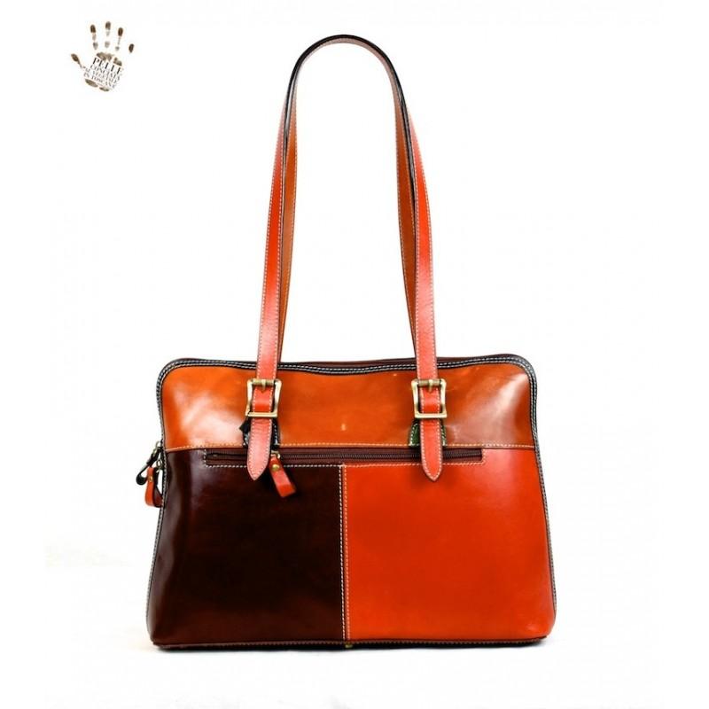 """Leather Lady bag """"Amiata"""""""