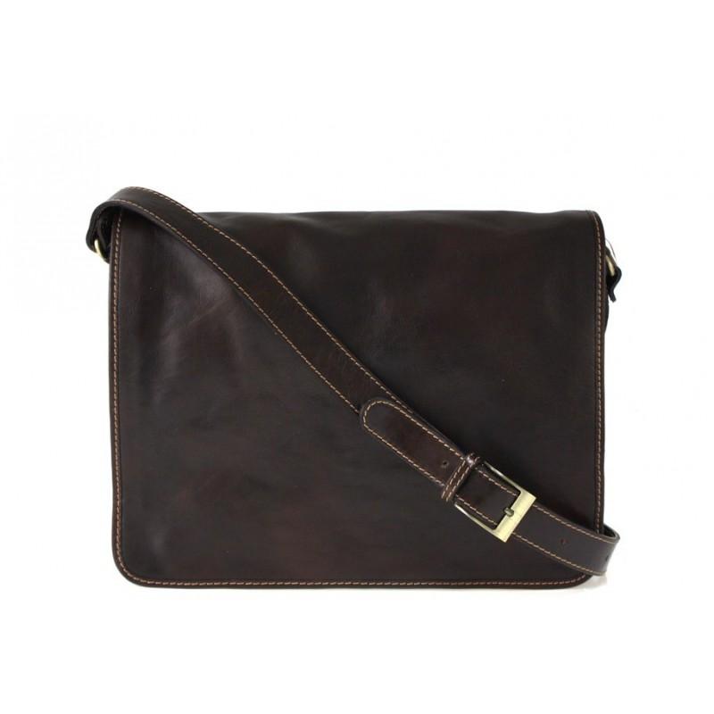"Leather Man bag ""Pisa"""