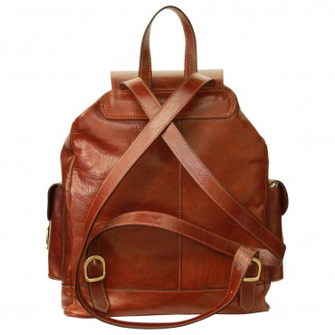 "Leather backpack ""Cieszyn"""