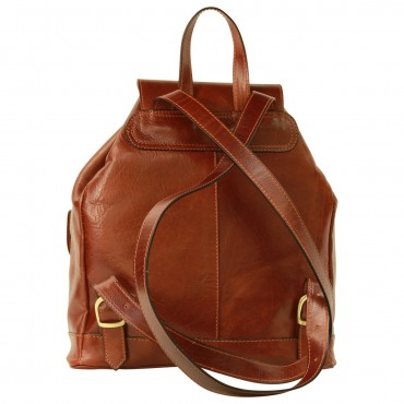 "Leather backpack ""Gryfice"""