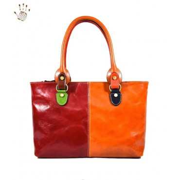 "Leather Lady bag ""Albegna""..."