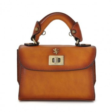 "Leather Lady bag ""Lucignano"""