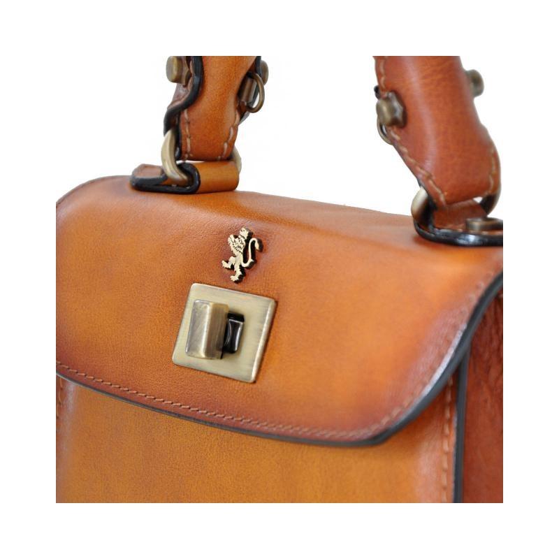 "Leather Lady bag ""Lucignano"" B280/20"