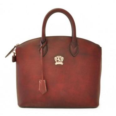 "Leather Lady bag ""Versilia"" B348"