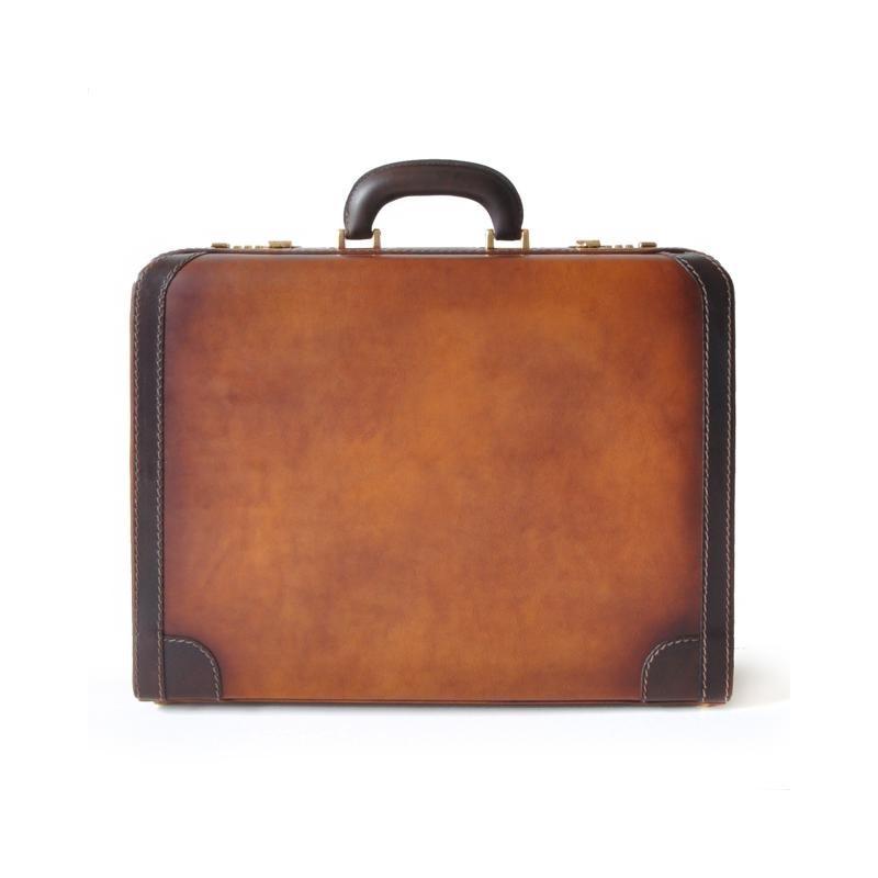 "Leather Suitcase 24H ""Tiziano"" B499"