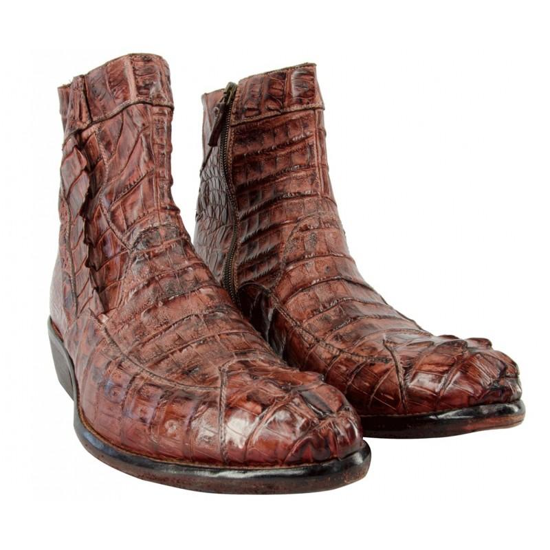 Boots Men Crocodile Caiman
