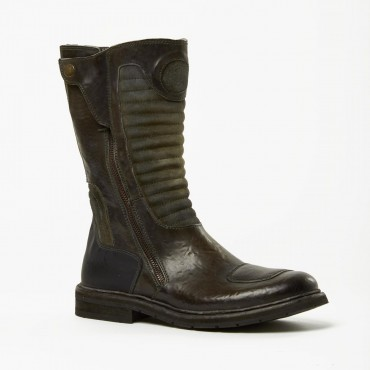 "Leather Man boots ""Manciano"""