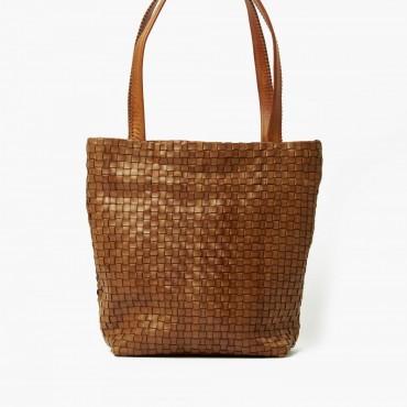 "Leather Lady bag ""Salice"""