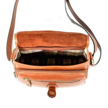 "Leather Lady bag ""Toscanella"""