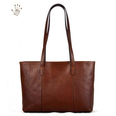 "Leather Lady bag ""Corte dei..."