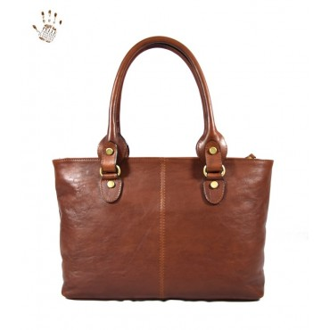"Leather Lady bag ""Albegna"""