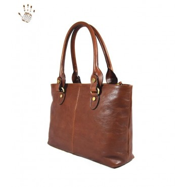 "Leather Lady bag ""Albegna"" B"