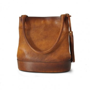 "Leather Lady bag ""Montecarlo"""