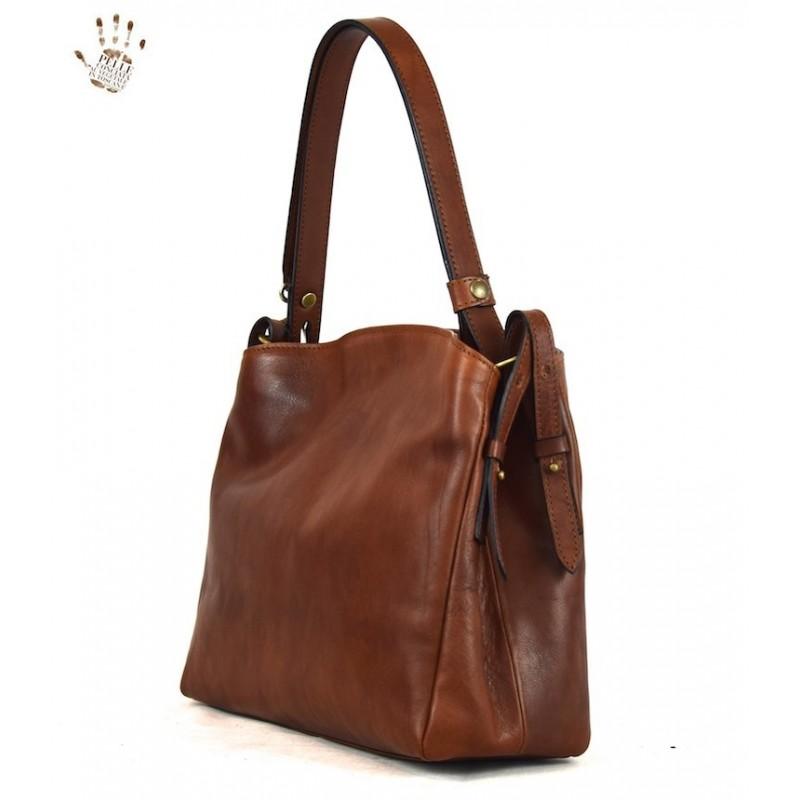 "Leather Lady bag ""Montieri"""