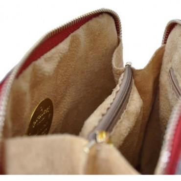 "Leather Lady bag ""Volterra"" C467"