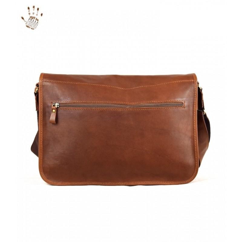 "Leather man bag ""Maremma"""