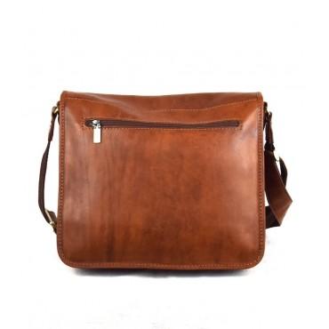 "Leather Man bag ""Quercia"""