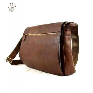 "Leather Man bag ""Pitiglio"""