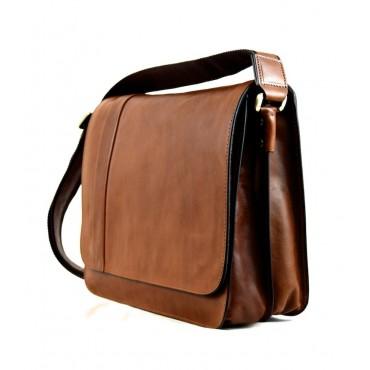 "Leather Man bag ""Bisenzio"""