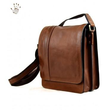 "Leather Man bag ""Santerno"""
