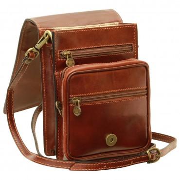 "Leather Man bag ""Chełm"""