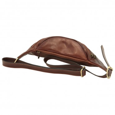 "Leather Fanny pack ""Kórnik"" B"