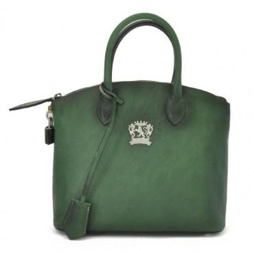 "Leather Lady bag ""Versilia"" B348-P"
