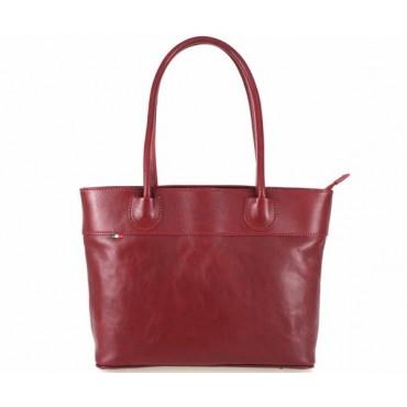 """Leather Lady bag """"Secchiello"""" 083B"""