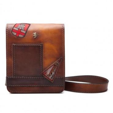 "Leather Man bag ""Mini Messanger"" B182-18"