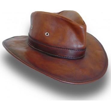 """Leather hat one """"Cagliostro"""""""