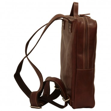 "Leather backpack ""Zamość"" B"