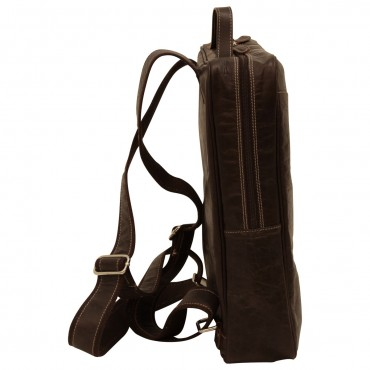 "Leather backpack ""Zamość"""