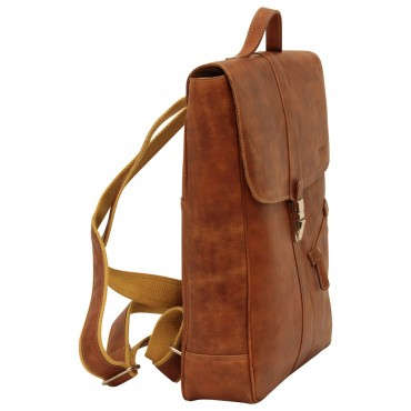 "Leather backpack ""Włocławek"" C"