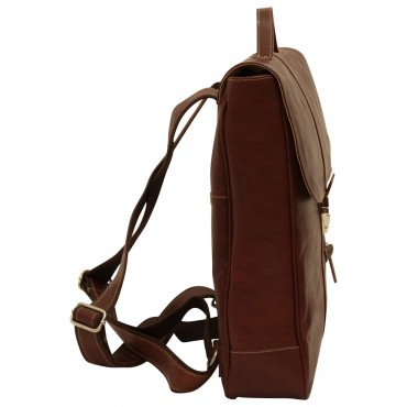 "Leather backpack ""Włocławek"" B"
