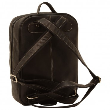 Leather backpack...