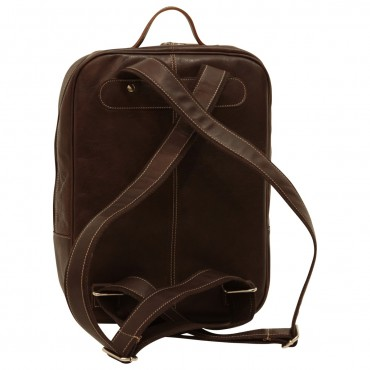 "Leather backpack ""Świnoujście"""