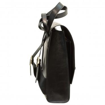 """Leather backpack """"Hannover"""" BL"""