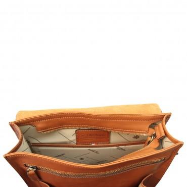 """Leather backpack """"Praga"""" C"""