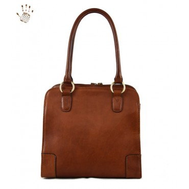 """Leather Lady bag """"Giglio"""""""