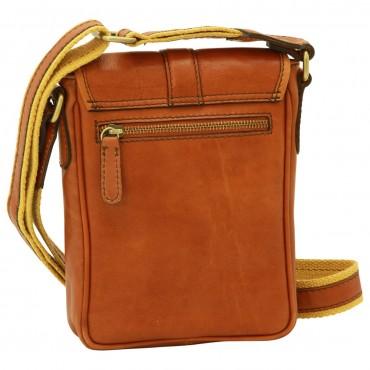"Leather Man bag ""Opole"""