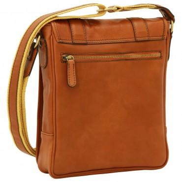 "Leather Man bag ""Grudziądz"" C"